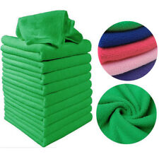 10 x Microfibre Cleaning Auto Car Detailing Soft Cloths Wash Towel Dust BPU