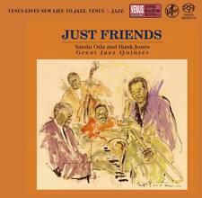 """Satolu Oda And Hank Jones Great Jazz Quintet - Just Friends"" Japan SACD CD New"