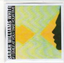 (DK295) Sarah Williams White, If I Smile at You / Take Your Time - 2012 DJ CD