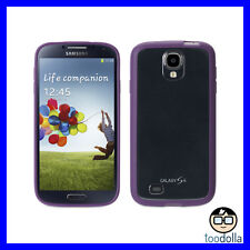 GRIFFIN Reveal ultra thin shell case with rubber edging,unique, Galaxy S4 PURPLE