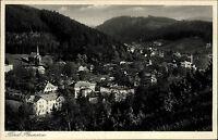 Duszniki Zdrój BAD REINERZ ~1935 Panorama AK Totalansicht alte Postkarte Polen