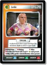 Star Trek CCG TwT Trouble with Tribbles Lumba (Quark) 75R