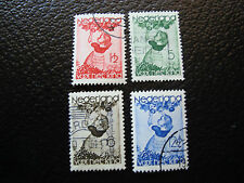 PAYS-BAS - timbre - Yvert et Tellier n° 278 a 281 obl (A2) stamp netherlands