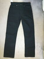 """M&S BLACK JEANS WITH 100% COTTON IN REGULAR FIT FROM MARKS & SPENCER - W30"""" L33"""""""