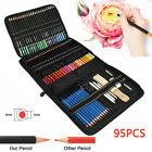 95pcs Professional Sketching Drawing Set Art Pencil Kit Artist Graphite Charcoal