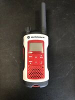 Motorola Talkabout T480 FRS/GMRS 2-Way Radio, Single Unit, Red/White,
