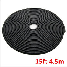 15ft 4.5m  U Pillar Car Door Seal Strip Rubber Sealing Strips Rear Edge Trim
