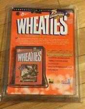 Wheaties 24K Gold Signature Series -75 Years of Champions-Jackie Robinson BNIP