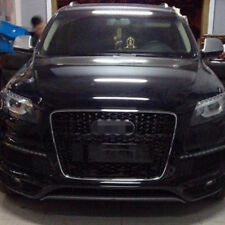 Front Mesh Grille Grill for Audi Q7 SQ7 SUV 2010-2015 To RSQ7 Style Chrome Frame