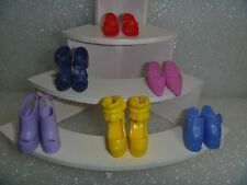 Barbie Shoes - A 6 Pack Variety and Style & Color 6P-14