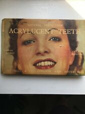 Vintage Prosthetic False Teeth In Box