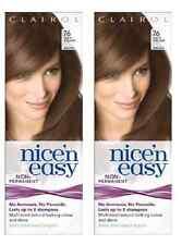 Clairol Nice N Easy Loving Care Hair Color, #76 Light Golden Brown (2 Pack)