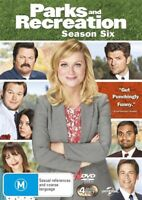 Parks And Recreation : Season 6 (DVD, 4-Disc Set) NEW