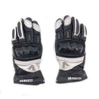 Vanucci Motorradhandschuhe Gr. XS Leder und Textil für Sport Touring Sommer