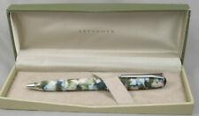 Levenger True Writer Spring Bouquet Prototype Ballpoint Pen Mint In Box 2013