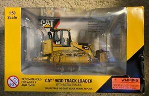 2007 NORSCOT CAT #55194 CAT 963D TRACK LOADER W/METAL TRACKS 1:50 SCALE - NEW