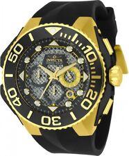 New Mens Invicta  23961 Coalition Forces Quartz Chronograph Black Dial Watch