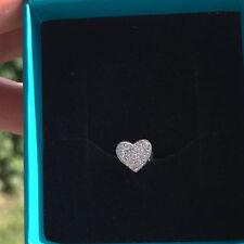 Echter Diamanten-Ohrschmuck im Ohrstecker-Stil mit Durchzieher