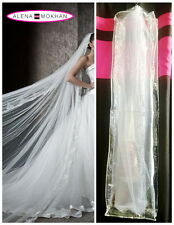 Bridal Veil Bag Bachelorette Veil Bag Clear With Clip - Headpiece Bag