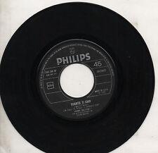JOHNNY HALLIDAY disco 45 giri QUANTO T'AMO + IO TI VOGLIO made in ITALY 1969