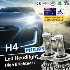 Fit Toyota Hilux 1985 - 2015 LED H4 Headlights vs HID Xenon Halogen Globes