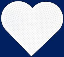 ~ LARGE HEART Hama / Perler Bead Pegboard HARD TO FIND