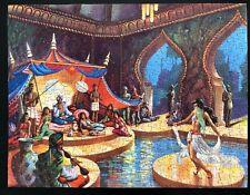 Vintage jigsaw puzzle Arabian Sultan Palace Dancer Musician Waddingtons complete
