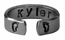 New Mom Custom Ring, Mother to Be Ring, Personalized New Born Baby Name