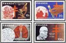 Timbres Santé Médecine Rwanda 1067/70 ** lot 25862