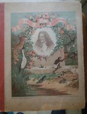 C1 Choix de FABLES DE LA FONTAINE Album Enfants ILLUSTRE GRANDVILLE Garnier 1909