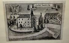 Originaldrucke (bis 1800) aus Europa mit Architektur-Motiv