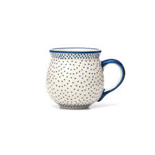 Bunzlauer Keramik Kugelbecher 200 ml Dekor 61A Unikat