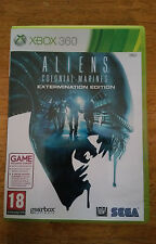 ALIENS COLONIAL MARINES EXTERMINATION EDITION FOR THE XBOX 360 FREE UK P&P
