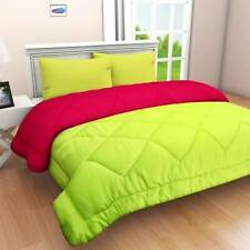 1800 Counts Reversible Microfiber Super Soft 6 Pc Comforter Set Light Green