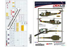 Decal UH-1B Iroquois 'Huey' RAAF, 'AIR FORCE' marking 1/72 Scale
