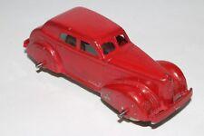 Tootsietoy 1940 LaSalle Sedan, Red, Original #11