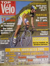 TOP VELO N°91: OCTOBRE 2004: DECATHLON - NAKAMURA - THOMAS VOECKLER - 14 PEDALES