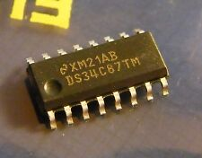 5x ds34c87tm CMOS QUAD DIFFERENZIALE rs-422 line driver, National Semiconductor