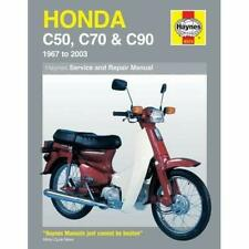 Honda C50, C70 and C90 Service and Repair Manual: 1967  - Paperback NEW Bleach,