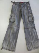 J531 Schlaghose Skater Jeans MISS SIXTY NEW DUBLIN 28 grey denim /J128