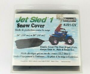 "Jet Sled 1 Shappell JS1-CV Snow Cover Elastic Cover 54"" X 24"" NEW"