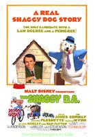 THE SHAGGY D.A. MOVIE POSTER 27x41 Folded R1977 WALT DISNEY FILM COMEDY
