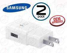 Samsung OEM EP-TA200 Wall Charger Adapter Fast Quick Charge QC 3.0 White- 2 Pack