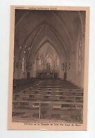 DOMOIS - Institut St François Xavier - Intérieur de la chapelle   (A6598)