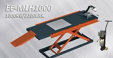 Stratus 2200 lbs Capacity Manual OP Motorcycle Lift (Optional Side Extensions)