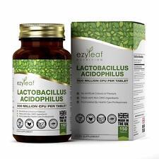 Ezyleaf Lactobacillus Acidophilus 500M CFU 150 Tablets  Immune Support Probiotic