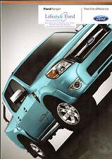 FORD RANGER PICK UP 2008-09 UK vendite sul mercato opuscolo XL XLT THUNDER Wildtrak
