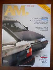 AM Mensile Automobile n°8 1990 Porsche 944 S2 Nuove Rover 214 & 216 MG ann [P40]