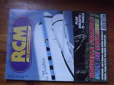 $$x Revue RCM N°168 Plan encarte Ti-Punch  DeLand  Futaba FC 18 V3  Flash Vario