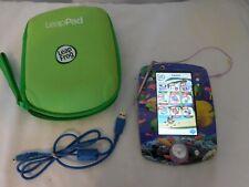 LeapFrog LeapPad 2 Explorer Kids' Learning Tablet, Green + Case + 1 Game